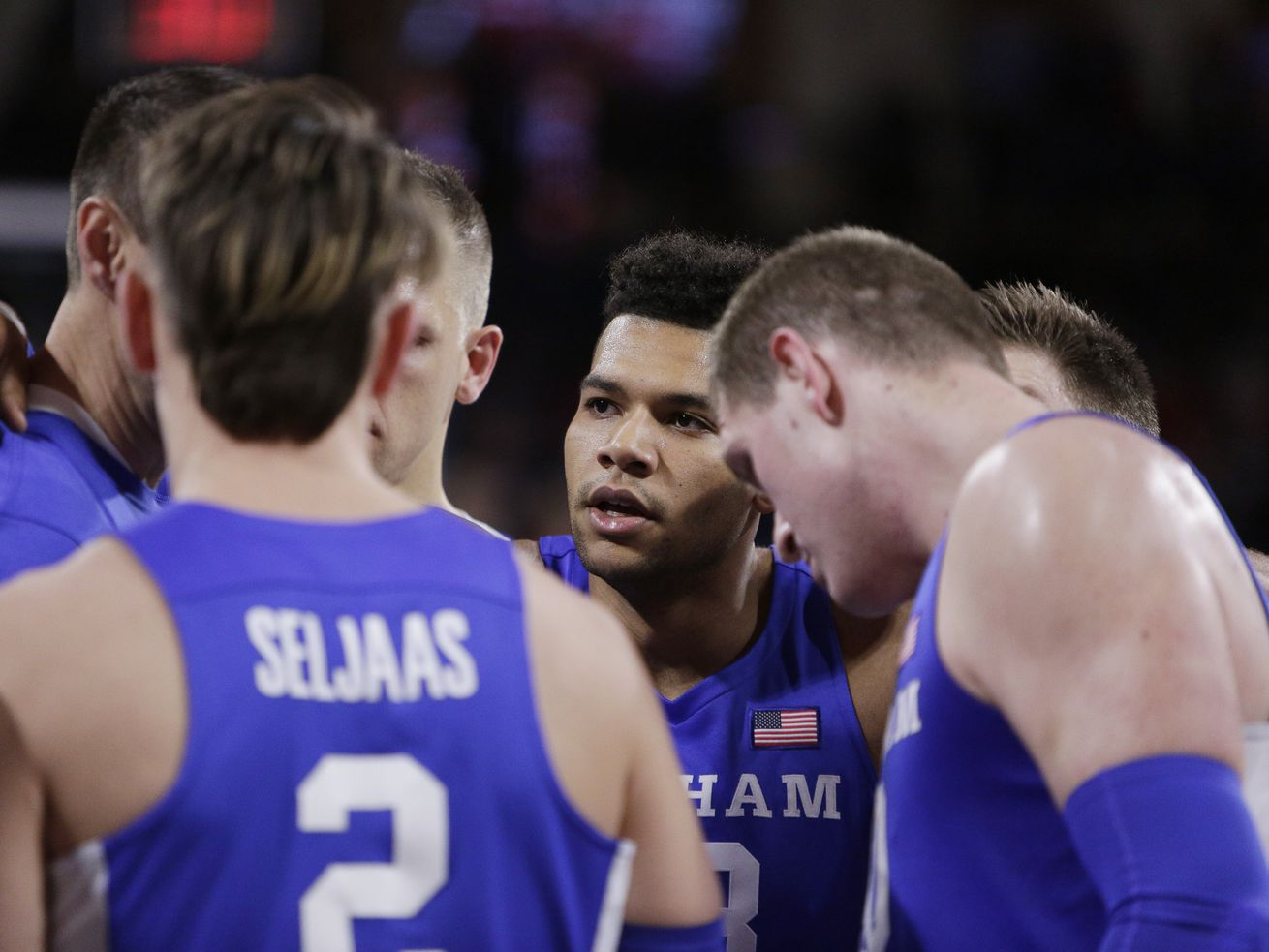 How BYU's Yoeli Childs used faith, and left-handed moves, to overcome his latest challenge