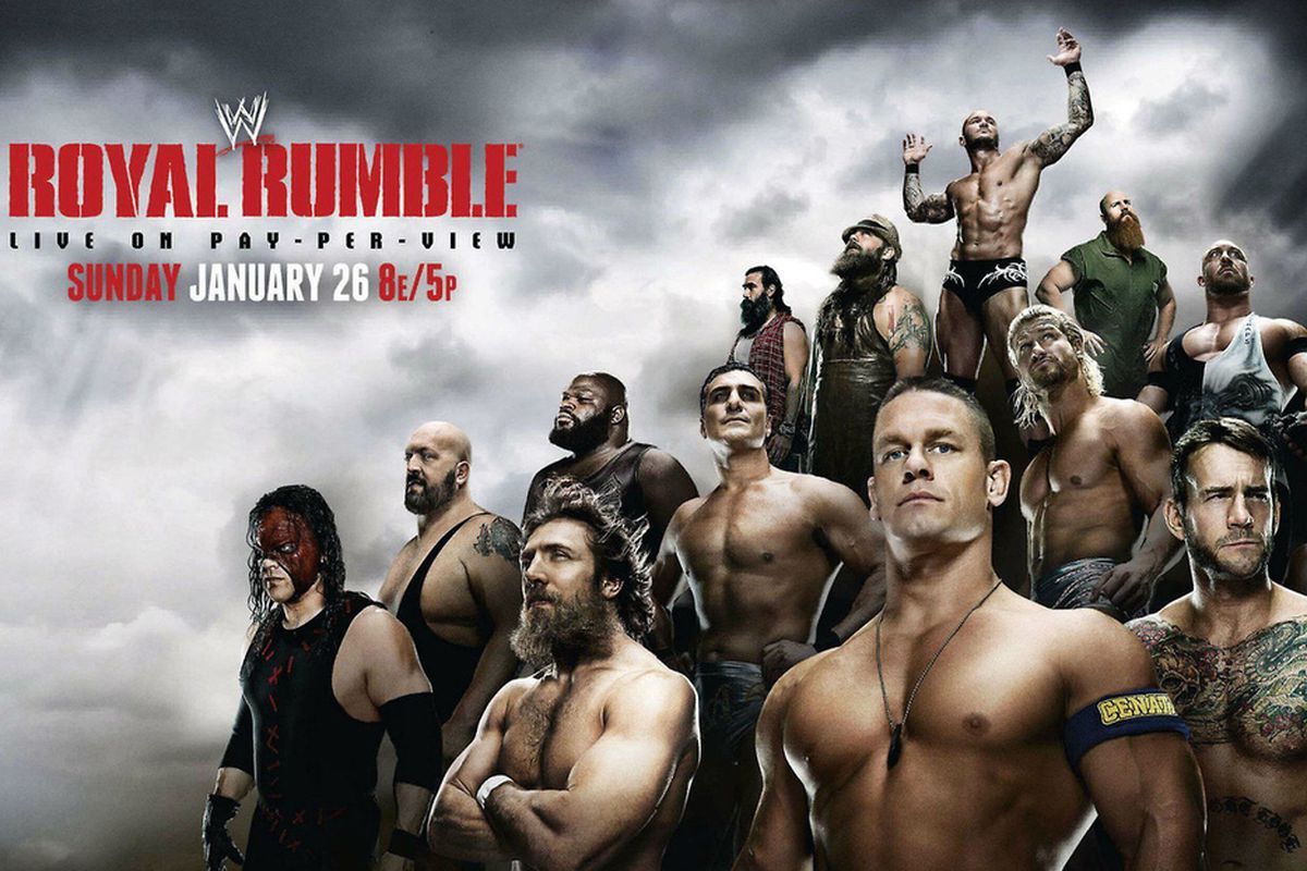 WWE Royal Rumble 2014 match card and line-up official