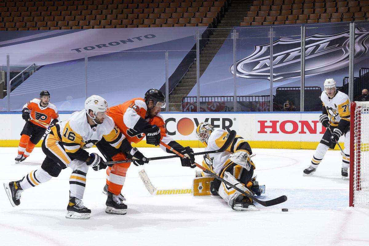 NHL: Exhibition-Pittsburgh Penguins vs Philadelphia Flyers