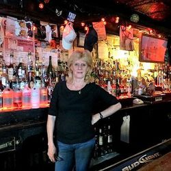 """<a href=""""http://ny.eater.com/archives/2013/10/jeannie_talierco.php"""">Jeannie Talierco on the Ironworkers & Regulars at Hank's</a>"""