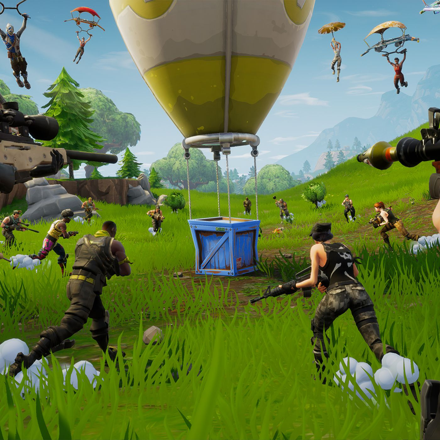 Calling Fortnite a battle royale game misses the point - Polygon