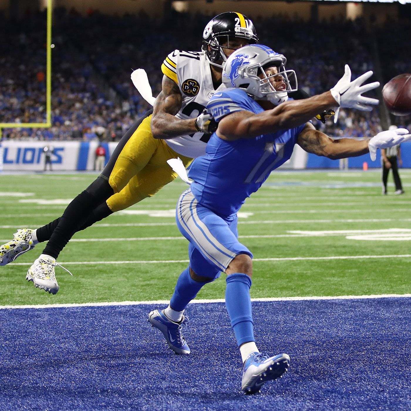 The Lions  red zone offense was absolutely embarrassing vs. Steelers ... 5a7ae242c