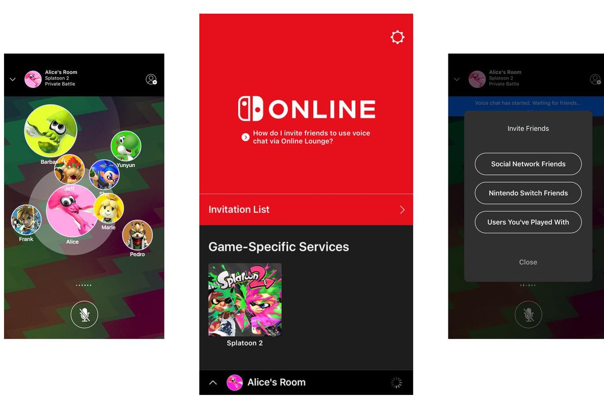 the nintendo switch online app will launch alongside splatoon 2 on