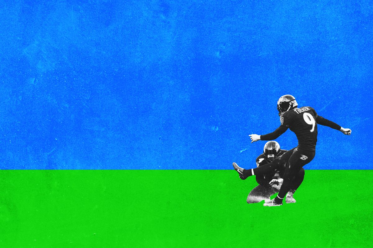 justin tucker u0027s quest for the 70 yard field goal the ringer