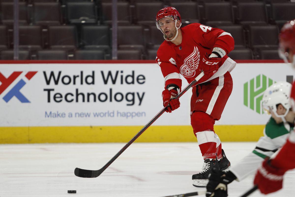 NHL: Dallas Stars at Detroit Red Wings