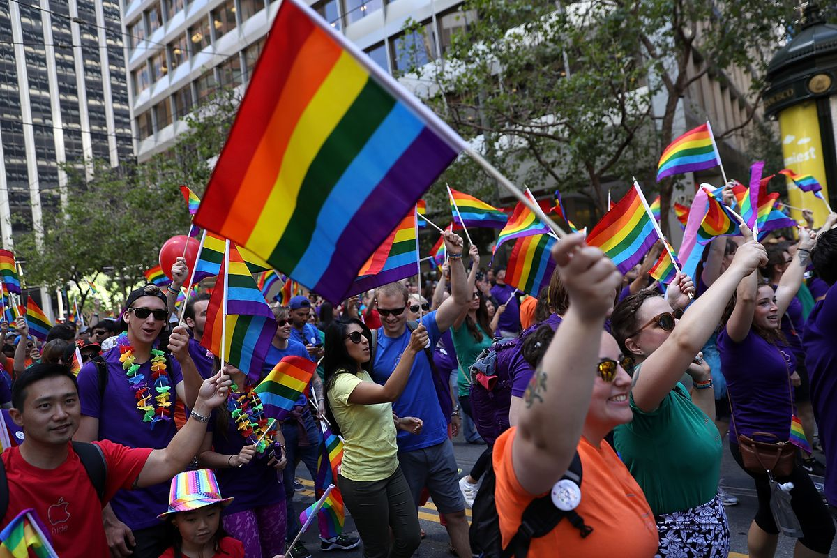 New York City Opera Holds Pride In The Park Event At >> Sf Pride Parade 2019 March Route And Street Closures Curbed Sf