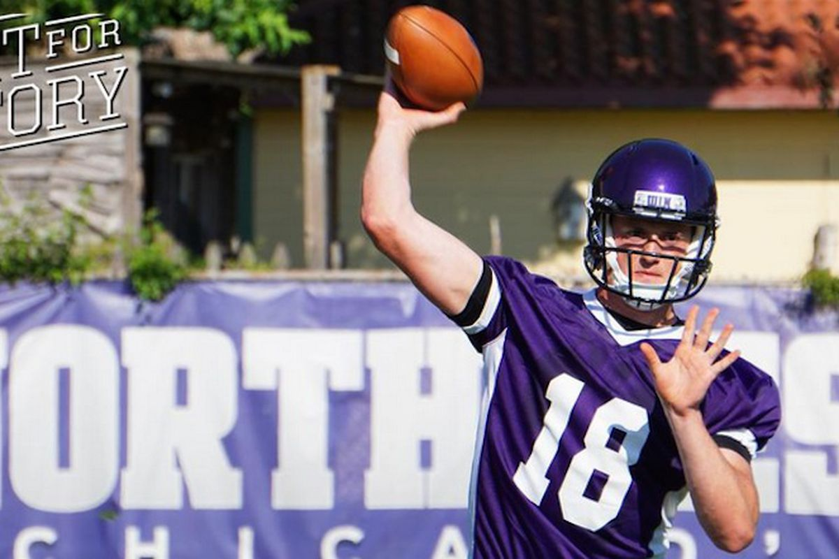new products 82a99 a9031 Northwestern gives a freshman the keys to the offense ...