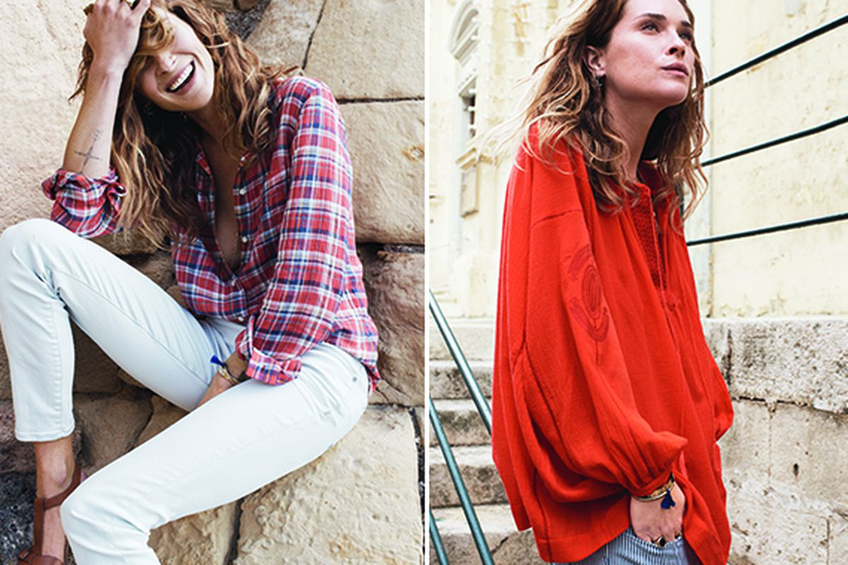 """Erin Wasson for Madewell. Photo <a href=""""http://honestlywtf.com/collections/madewell-x-erin-wasson/"""">via</a>."""