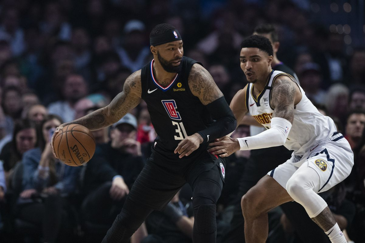 NBA: FEB 28 Nuggets at Clippers