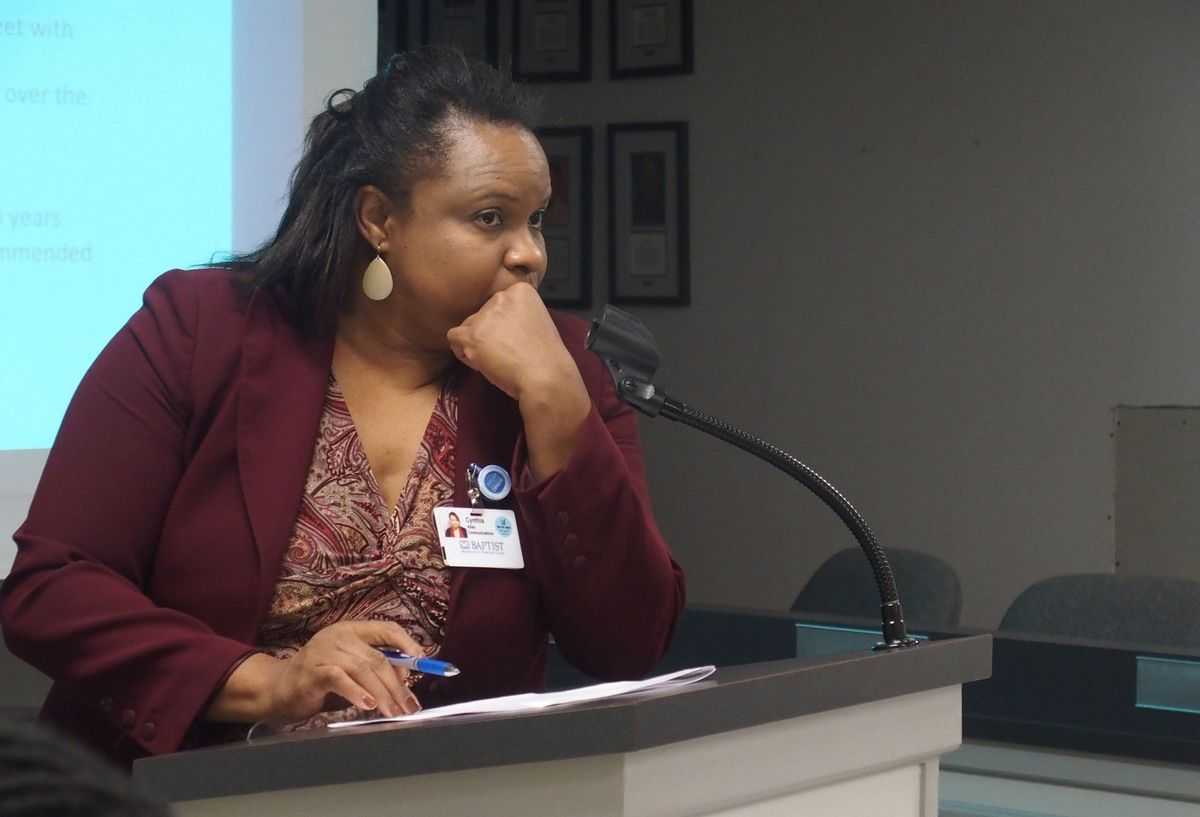 Cynthia Allen chaired the Charter Advisory Committee.