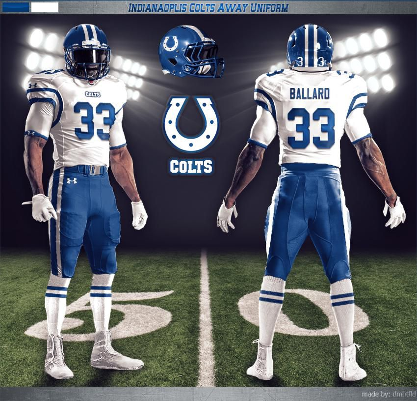 1dc4e3d6c This concept makes some more subtle changes to the Colts current look. The  blue helmet