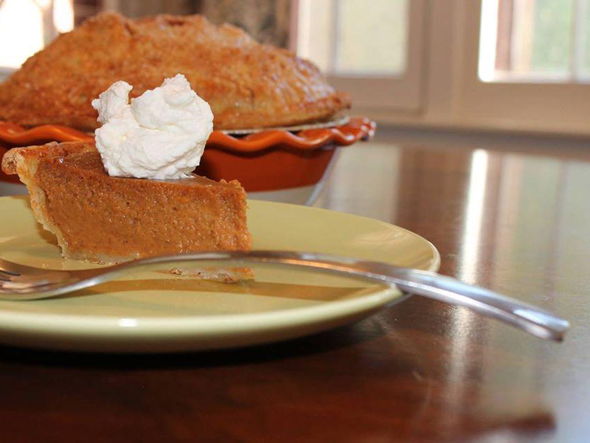 Pumpkin Pie at Cake Crumbs