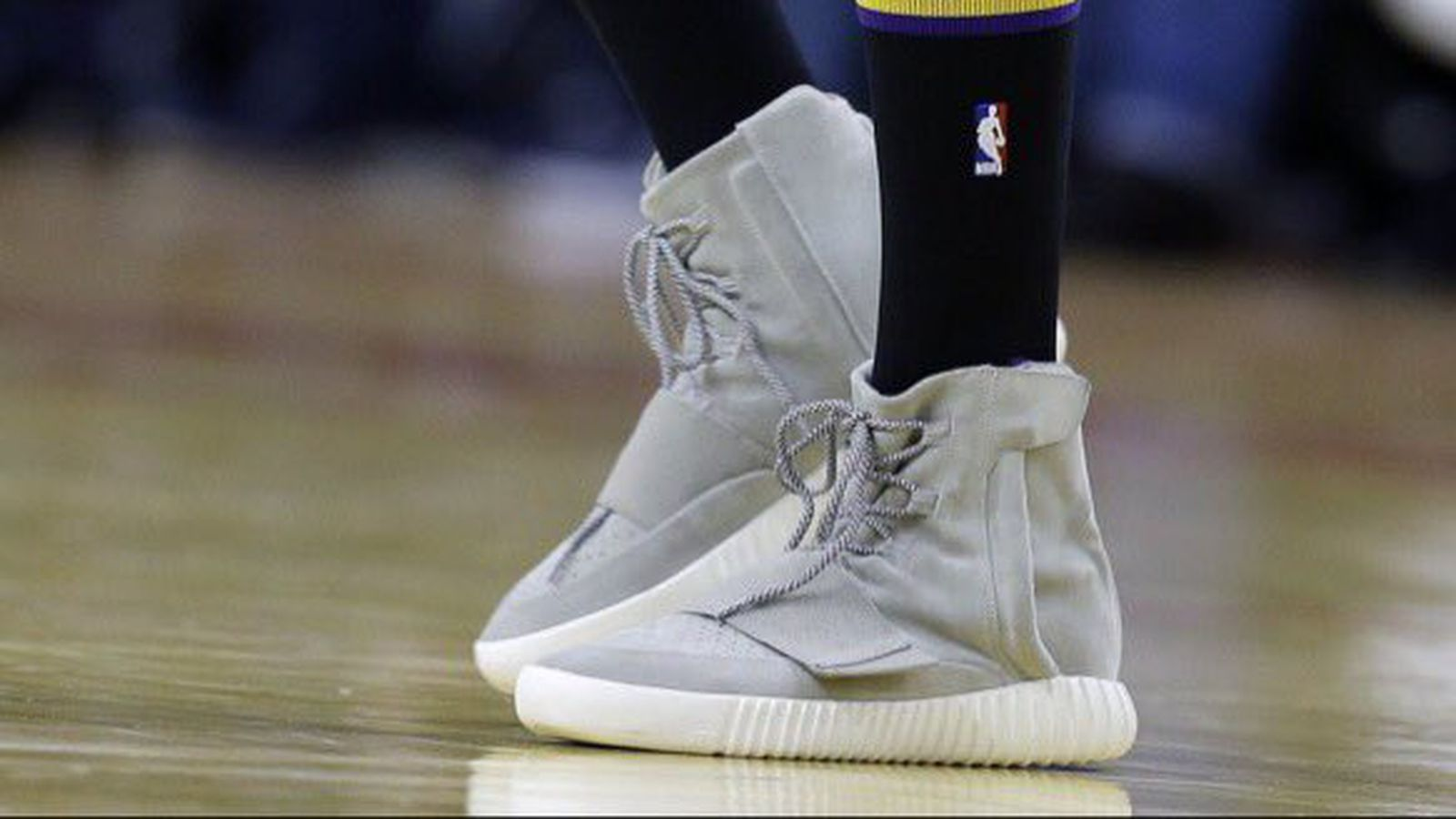 Nick Young Played Professional Basketball In Yeezy 750