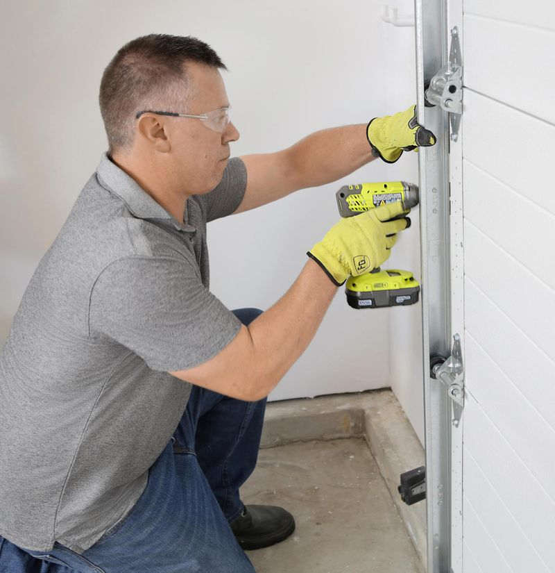 Spring 2021, Reno Planner: Garage Door Smarts, installation