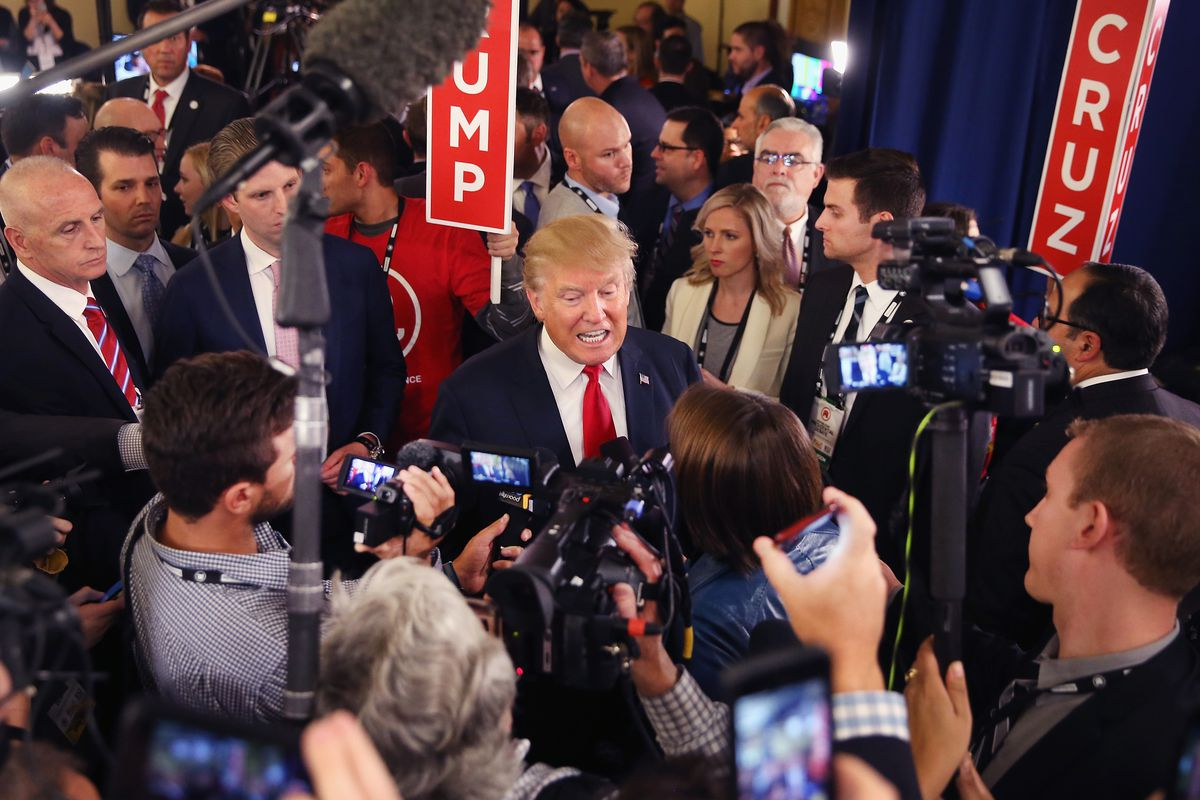 Voters trust the media slightly more than the scandal-ridden Trump administration