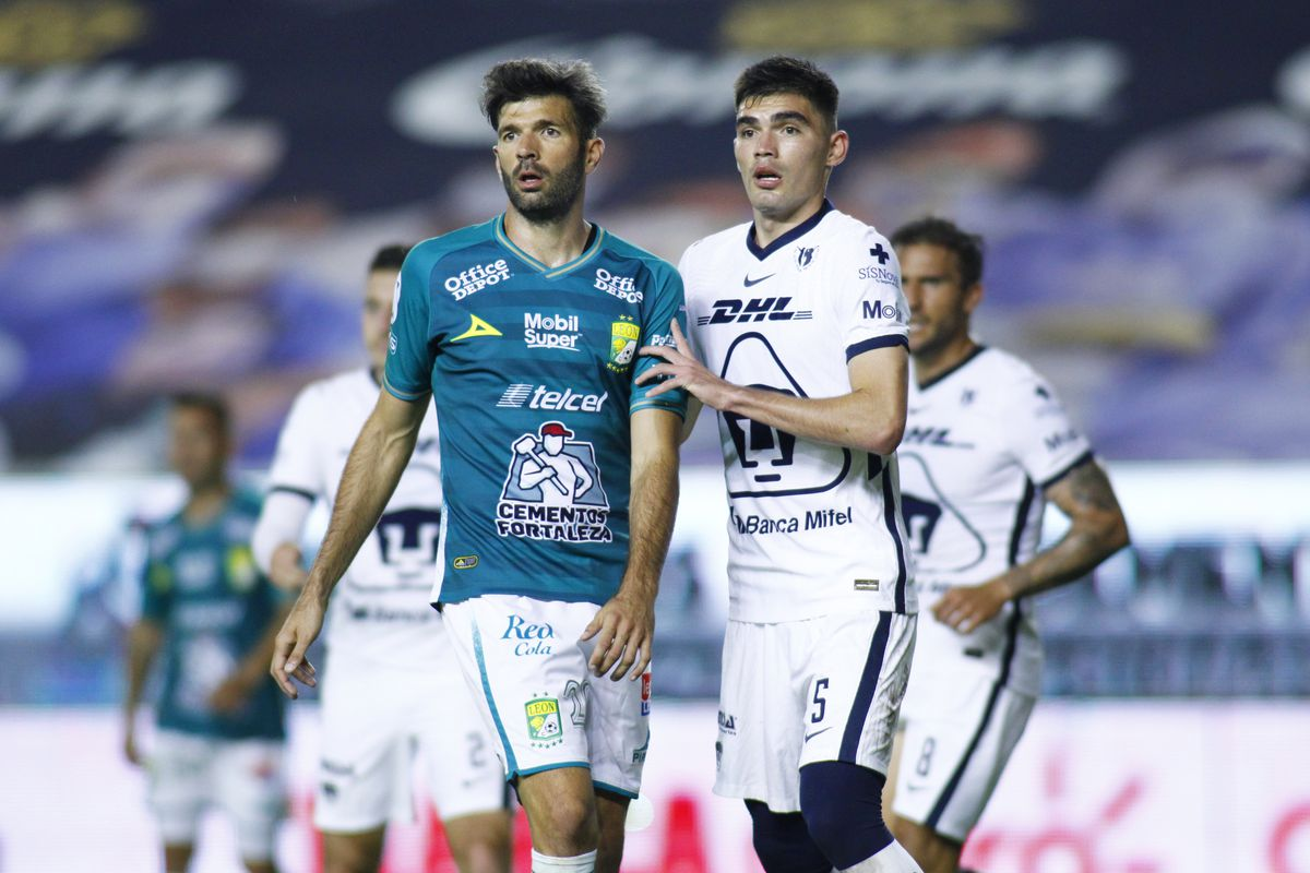 Leon v Pumas UNAM - Torneo Guard1anes 2020 Liga MX
