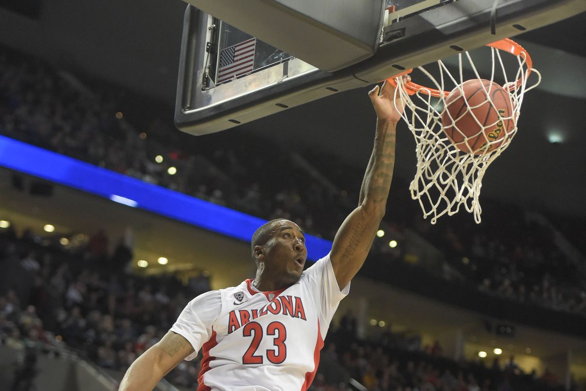 Arizona's Rondae Hollis-Jefferson will likely be tasked with defending D'Angelo Russell on Saturday.