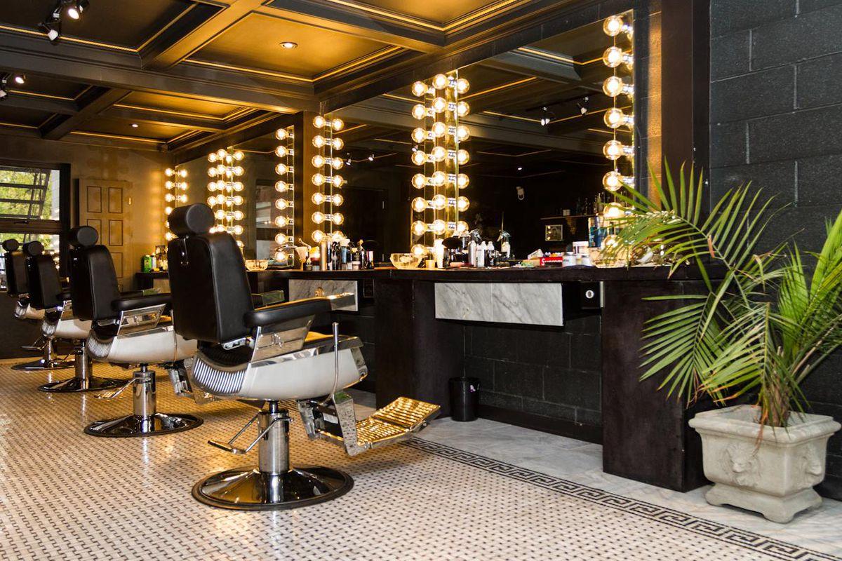 Inside Notorious Barbershop