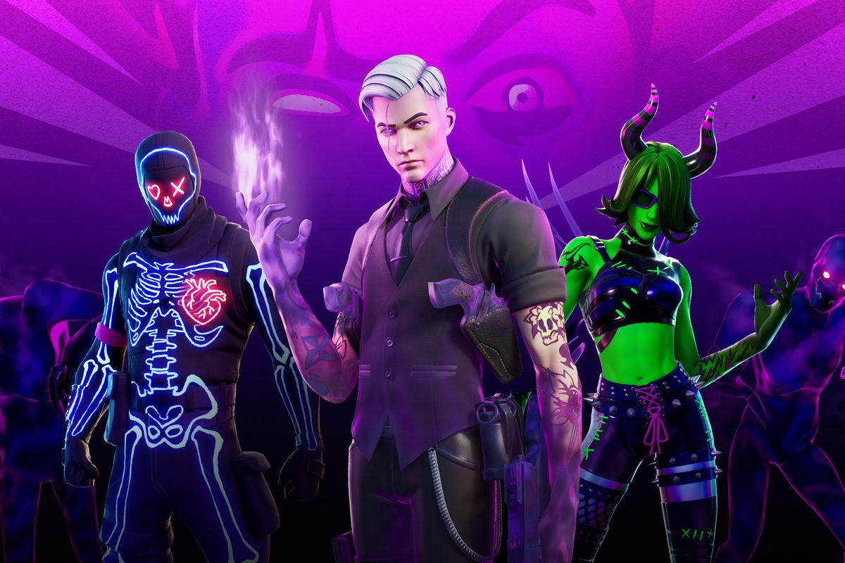 Fortnitemare 2020 Fortnite Halloween skins