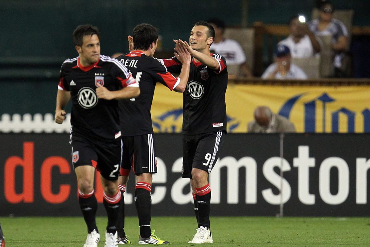 Lewis Neal and Hamdi Salihi combined for the second goal tonight for D.C. United