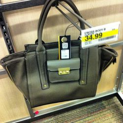 8:10 a.m.: Unless you're looking for a bag in this shade of...greige? Somehow, bags in this color keep ending up back on the racks.