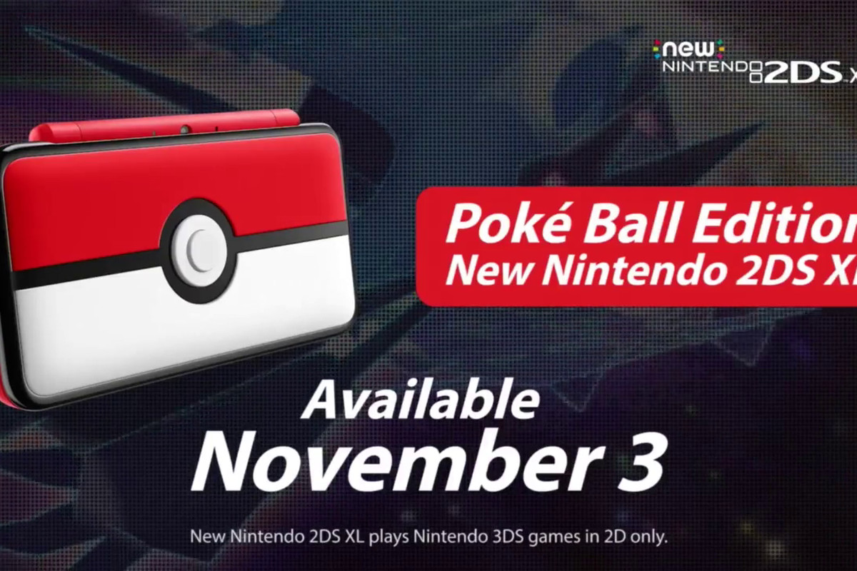 This Poké Ball-inspired 2DS XL is nearly too cute