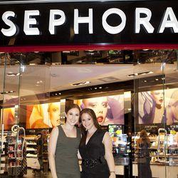Makeovers courtesy of Sephora