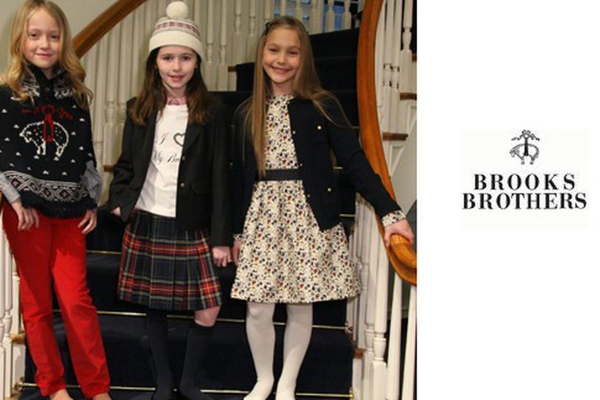 """Image via <a href=""""http://www.wwd.com/retail-news/brooks-brothers-to-launch-girls-for-b-t-s-2408355?module=today"""">WWD</a>"""