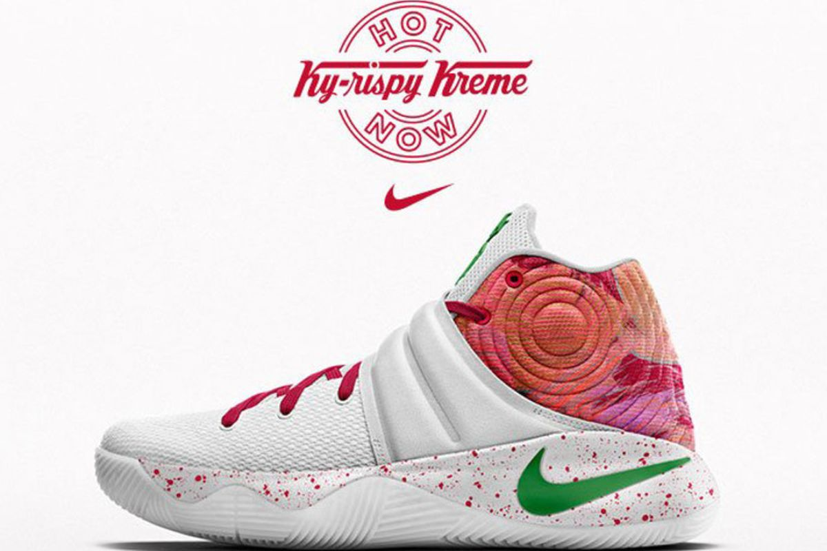 new style fcfeb a1e4e Nike, Krispy Kreme teaming up for Kyrie 2 colorway