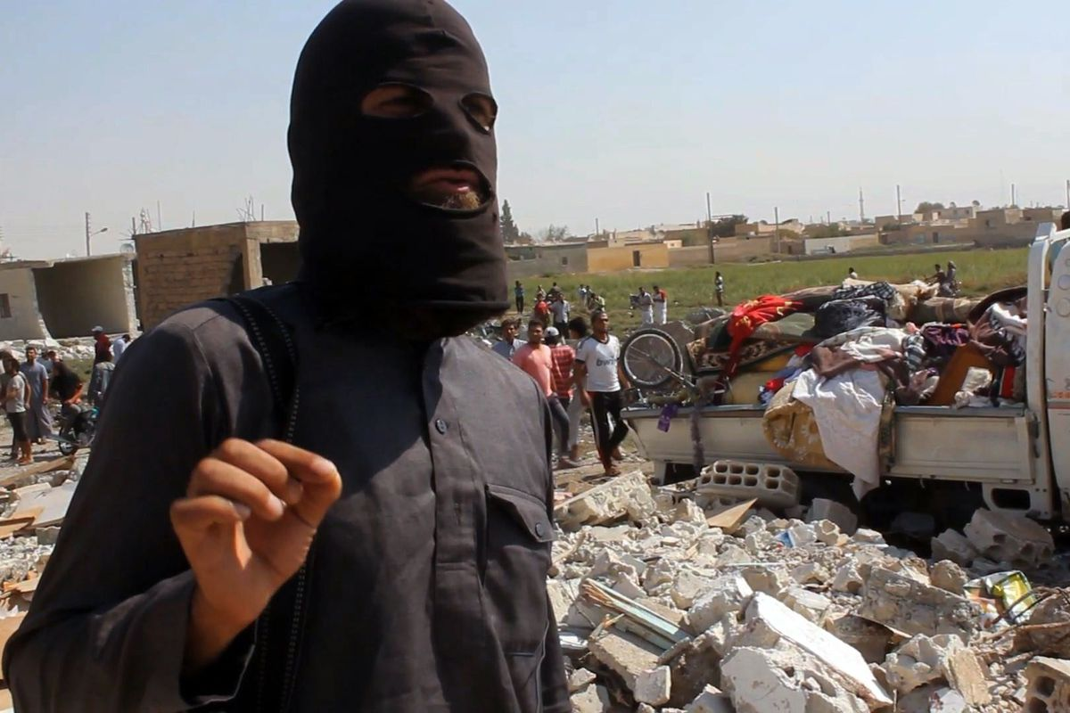 An unidentified ISIS fighter.