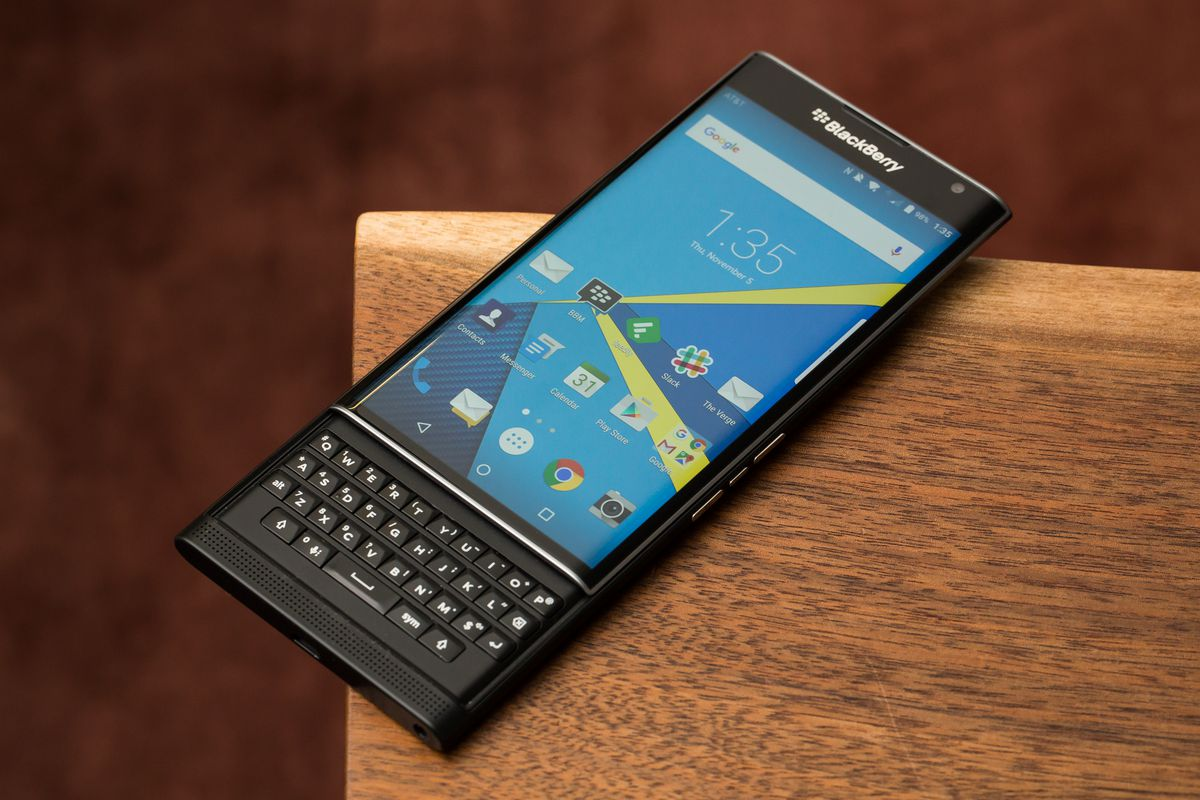 BlackBerry plans to release two mid-range Android
