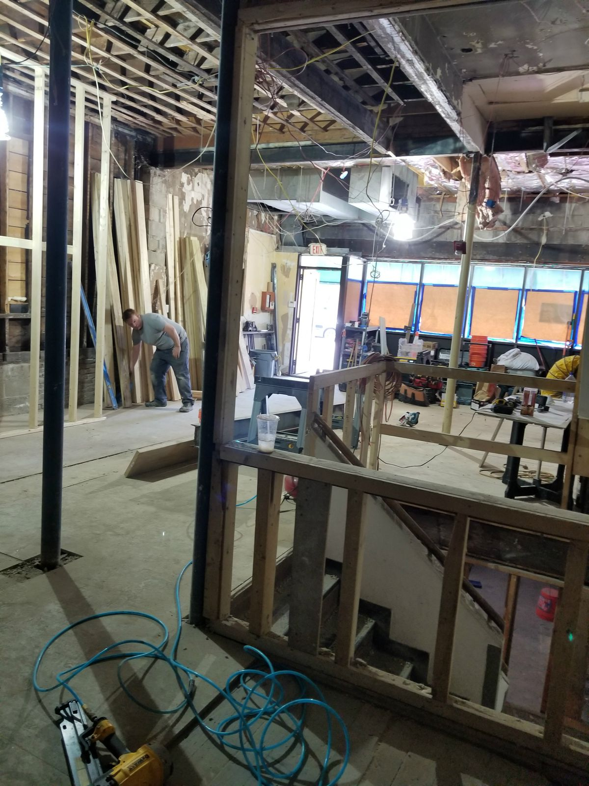 Construction at Revival Davis