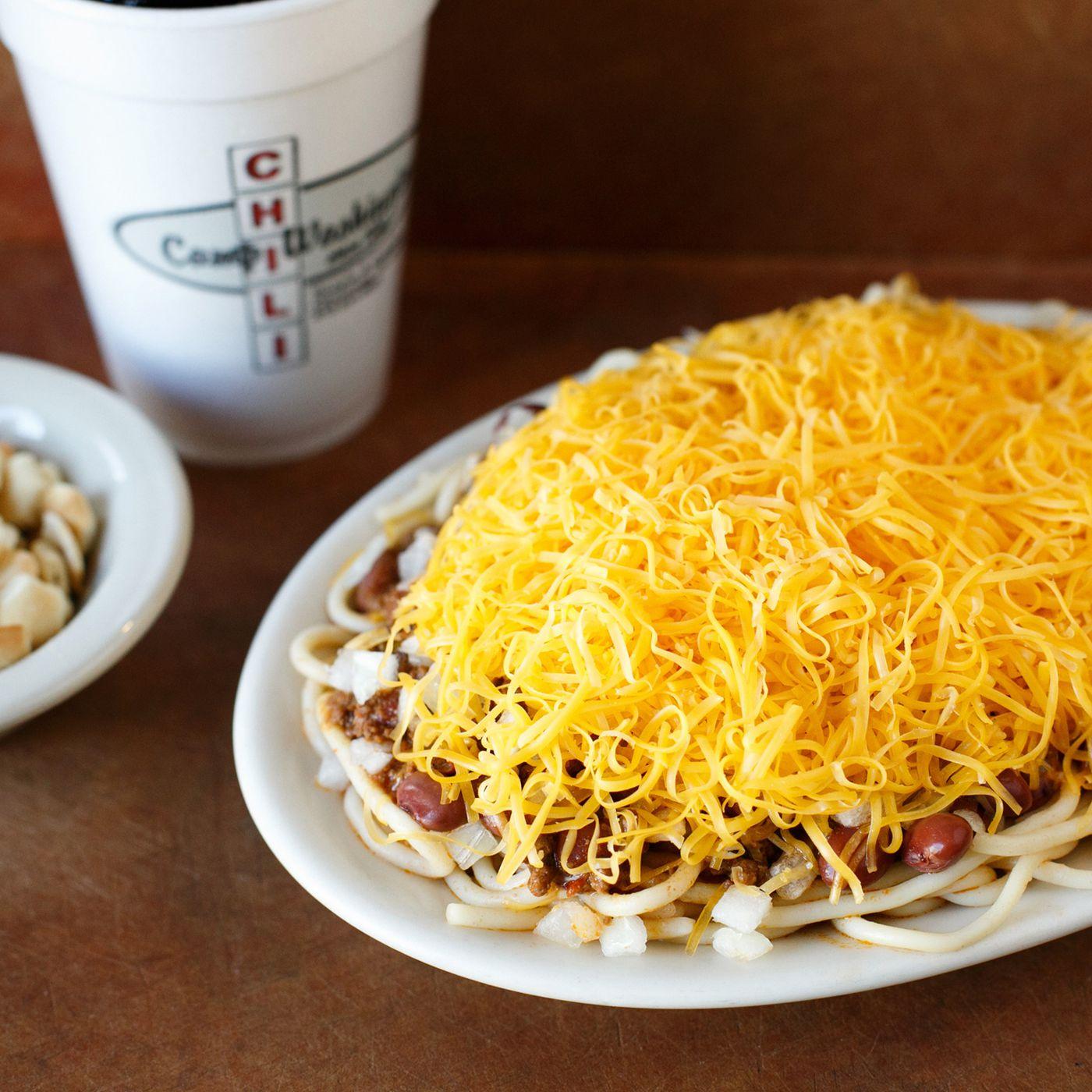 How Camp Washington S Chili Topped Spaghetti Became Cincinnati Legend Eater