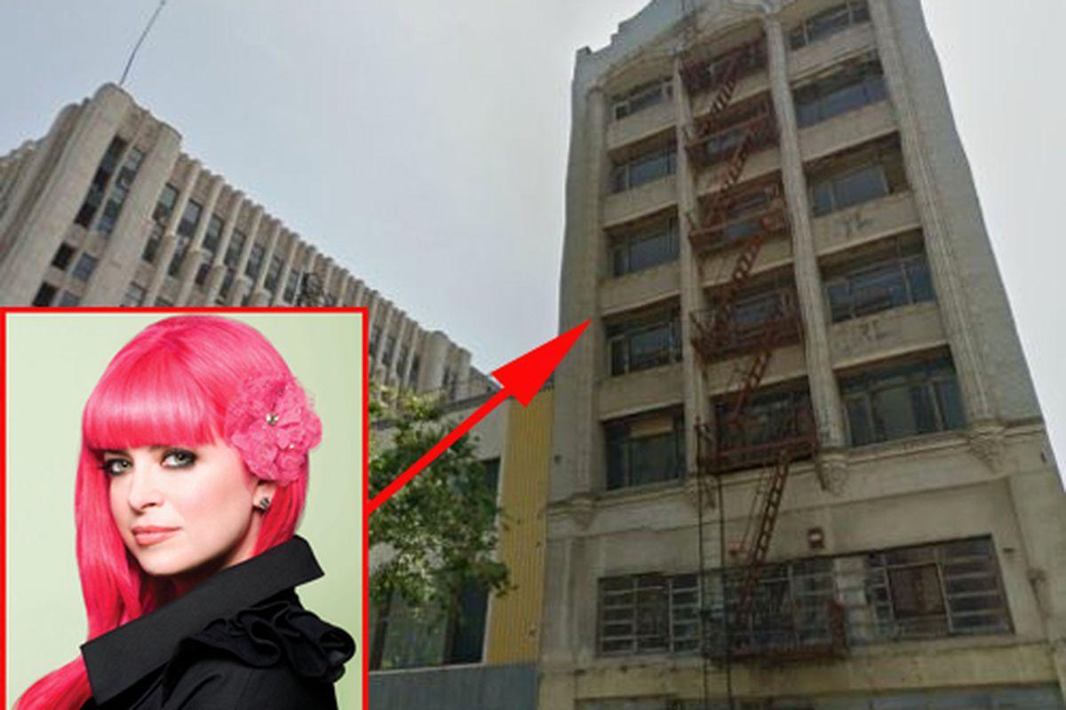 """Western Costume Building photo via Google Maps; Tarina Tarantino photo via <a href=""""http://www.makeupandbeautyblog.com/cosmetics/accessory-to-commit-makeup-introducing-tarina-tarantino-beauty/"""">makeupandbeautyblog.com</a>."""