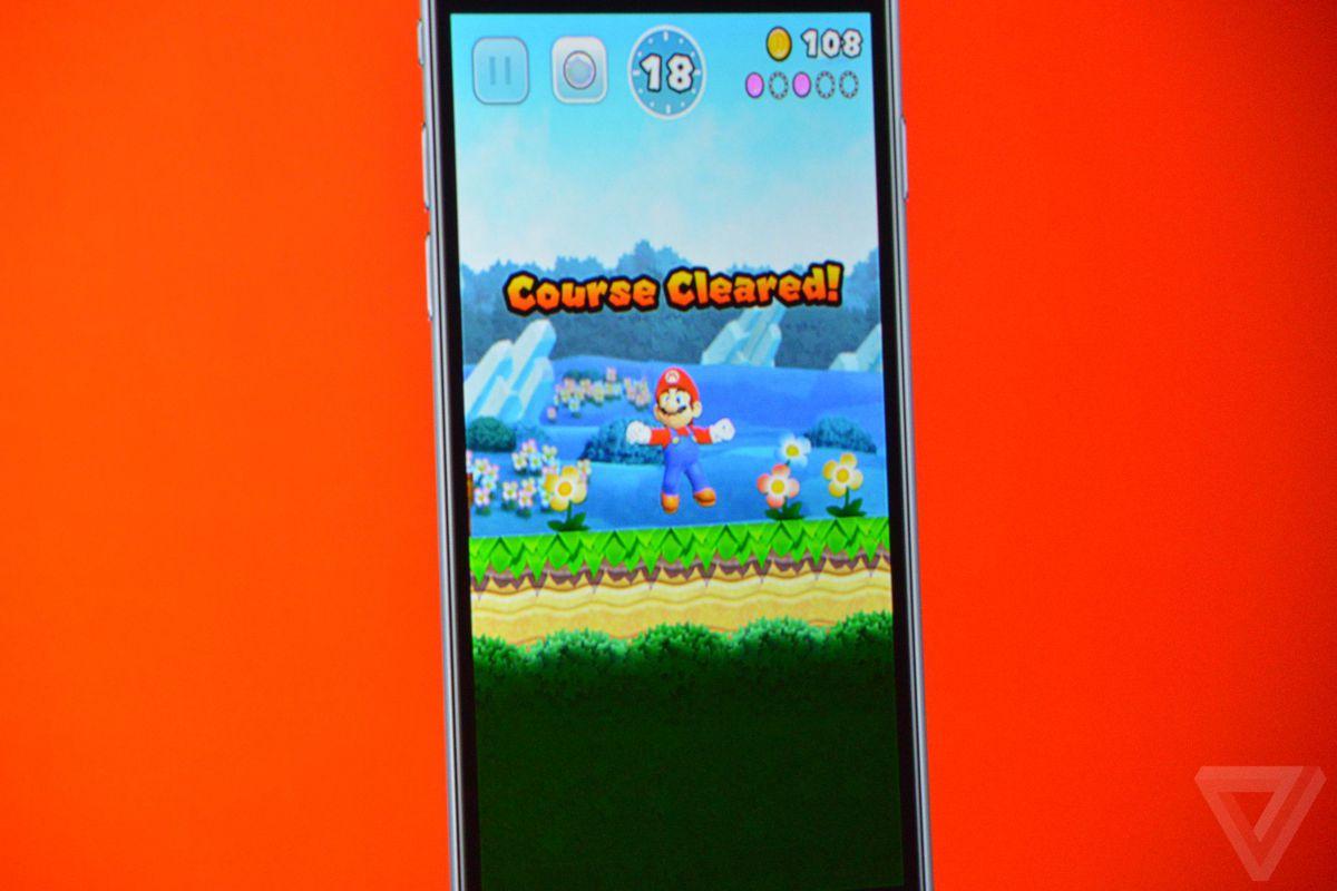 Super Mario iOS Announcement photos