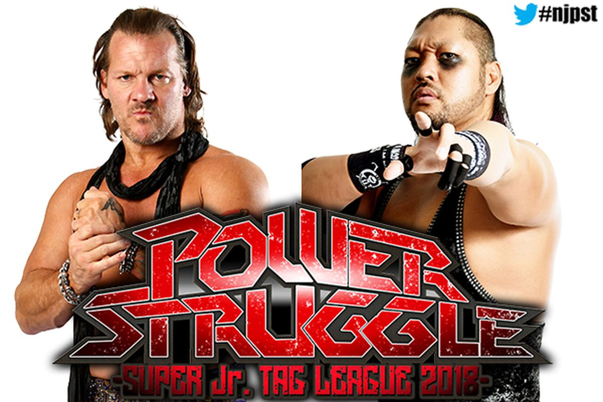 Jericho vs  EVIL is official for NJPW Power Struggle