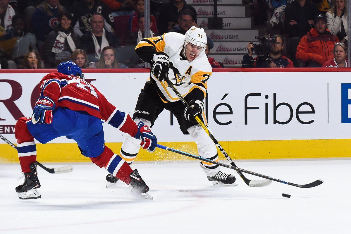 NHL: OCT 13 Penguins at Canadiens