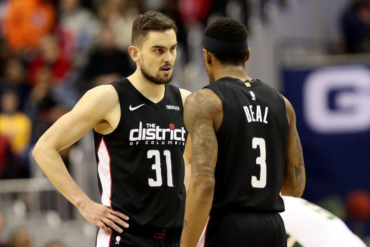 half off b9911 46929 The Tomas Satoransky, Bradley Beal backcourt is thriving in ...