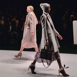 """""""The perfect fall coats from @rebeccaminkoff! Grey or pink?"""" - <a href=""""http://instagram.com/p/kIVEt2Hjwi/""""target=""""_blank"""">@songofstyle</A>"""