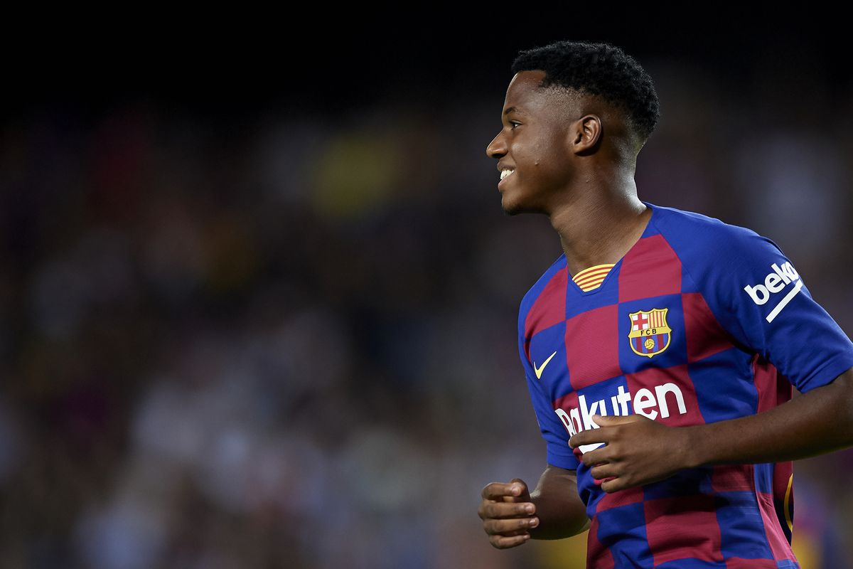 Ansu Fati called into Spain Under-21 squad after Carles Perez drops out