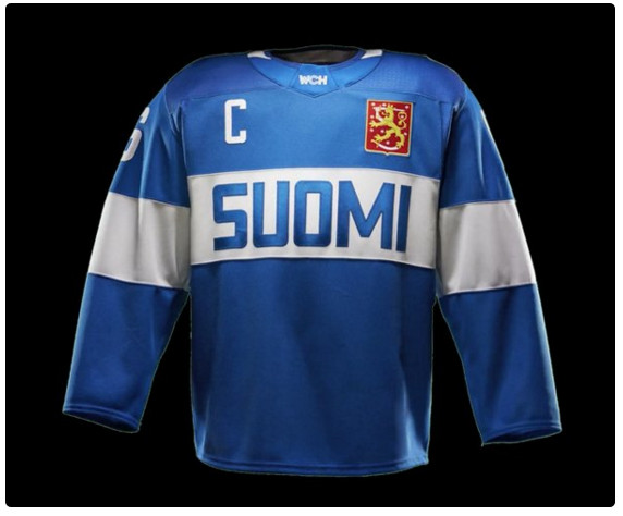 finland world cup of hockey jersey