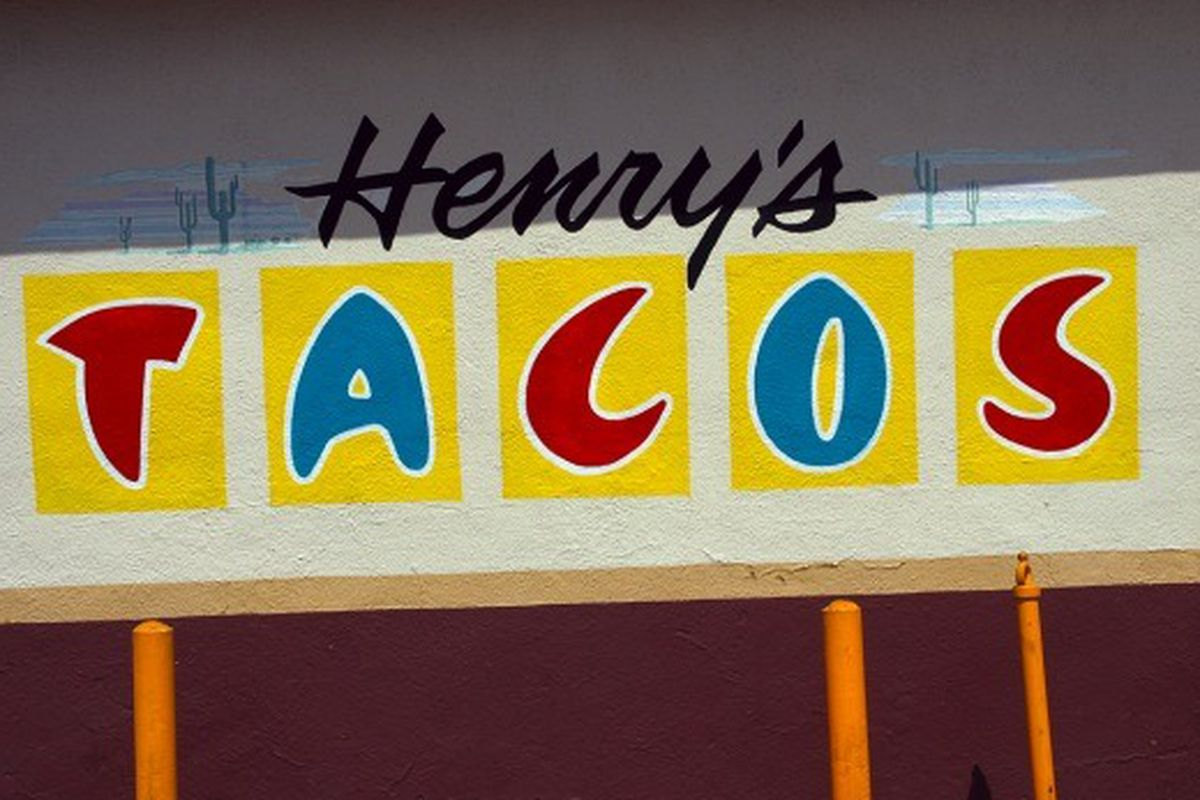 Henry's Tacos, North Hollywood.