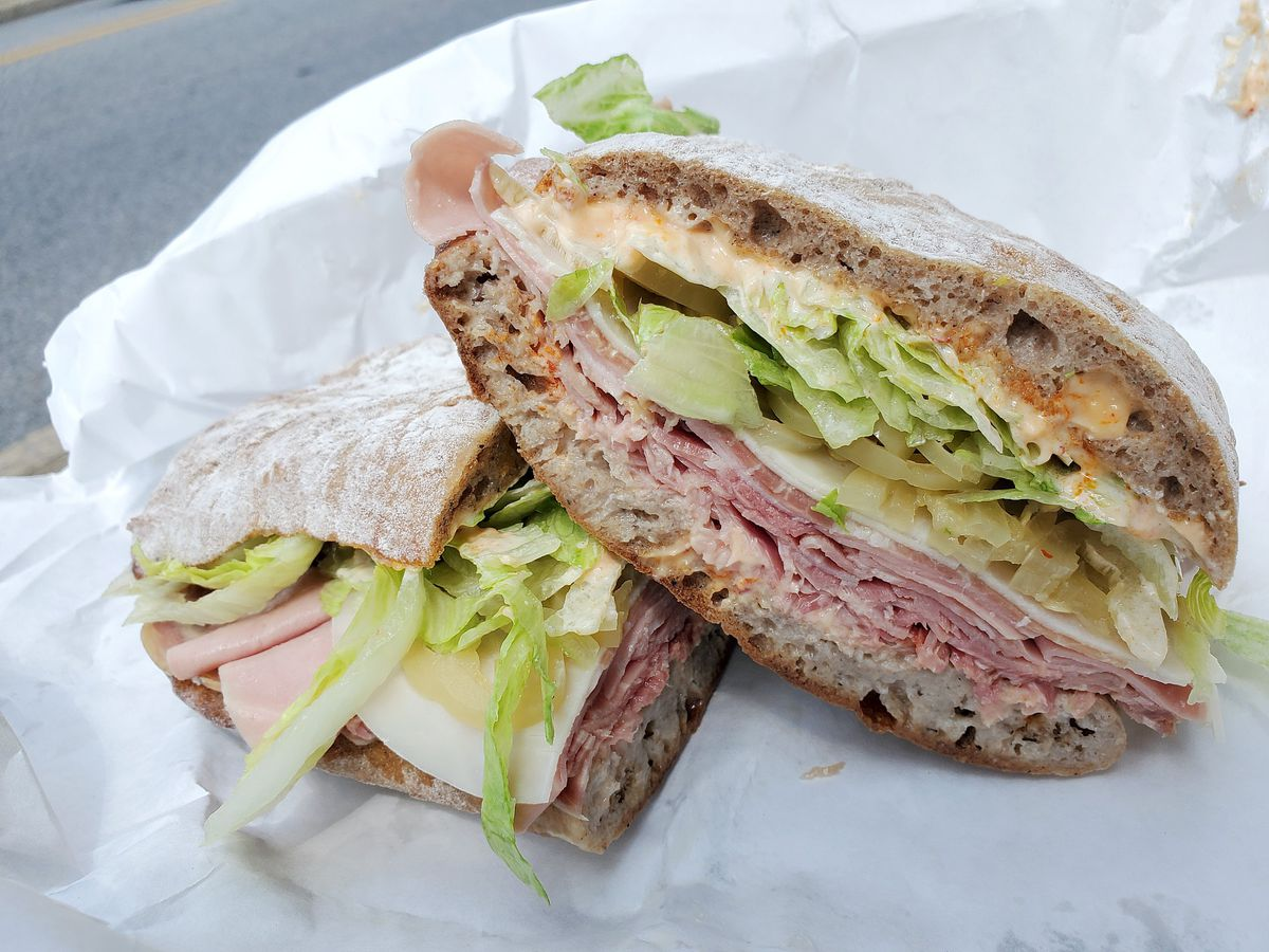 The Tissy sandwich from Staunton Grocery