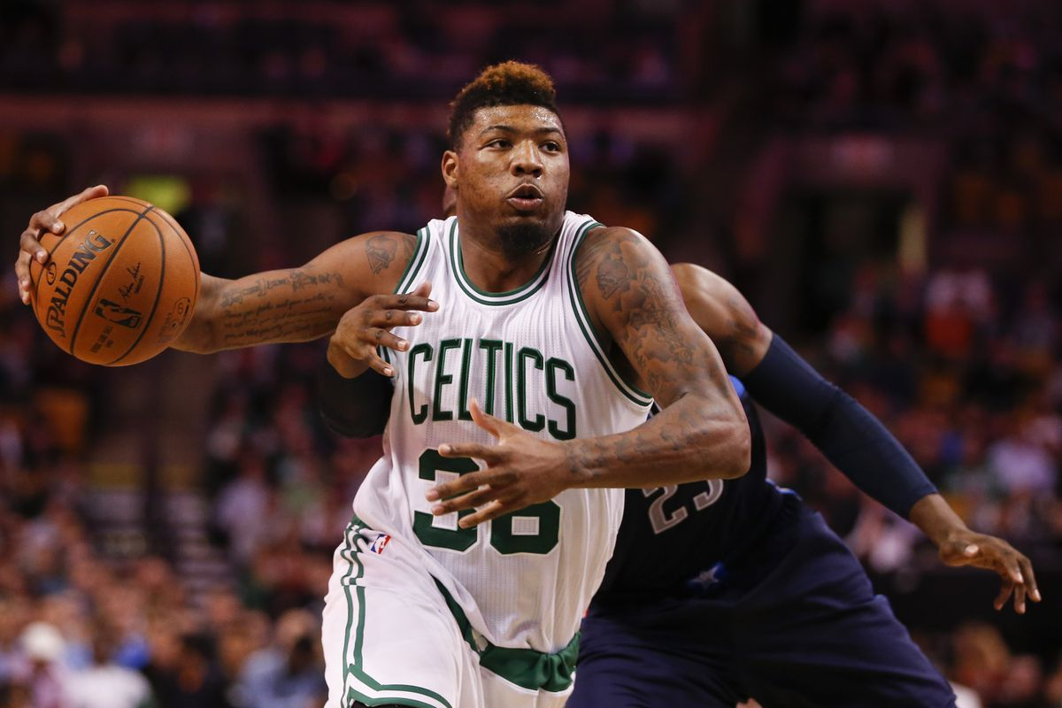 Marcus Smart just got his first career triple double. What will he do for an encore tonight?