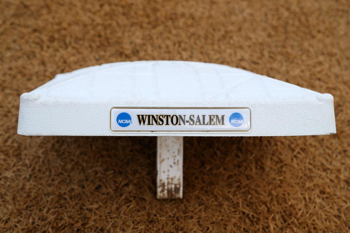 NCAA BASEBALL: JUN 02 Winston-Salem Regional - Wake Forest v UMBC
