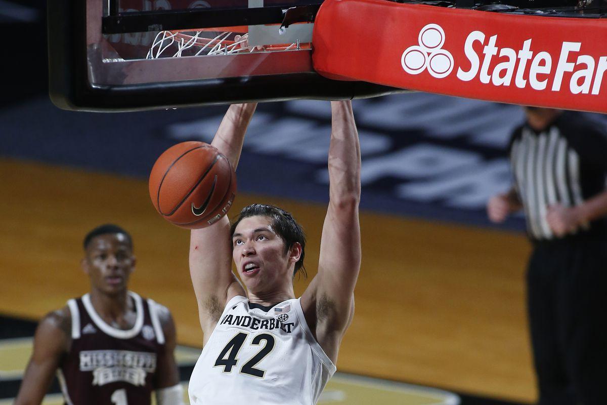 COLLEGE BASKETBALL: JAN 09 Mississippi State at Vanderbilt