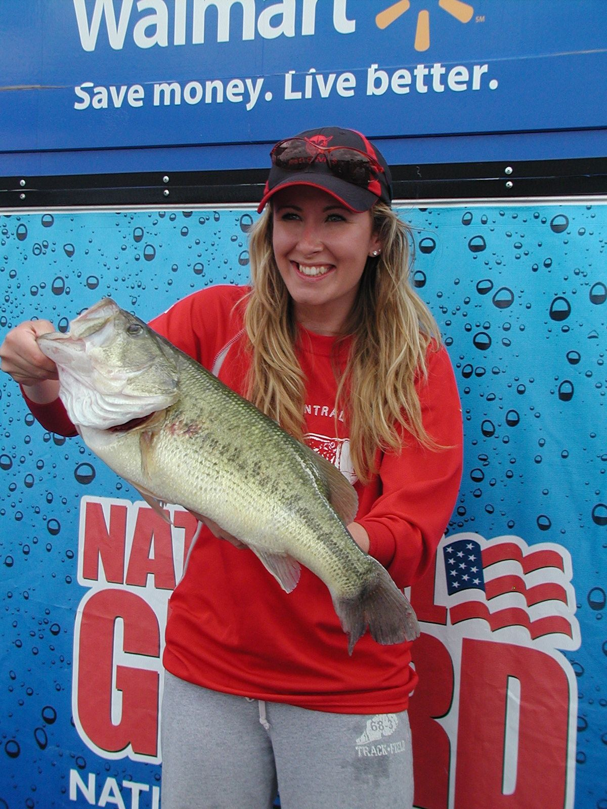 Nichole Mara, as a senior at Hinsdale Central, weighed the then-heaviest bass caught by a female during the IHSA finals in May of 2012. As an assistant coach/boat driver, she helped Hinsdale South reach the state finals this year. Credit: Dale Bowman