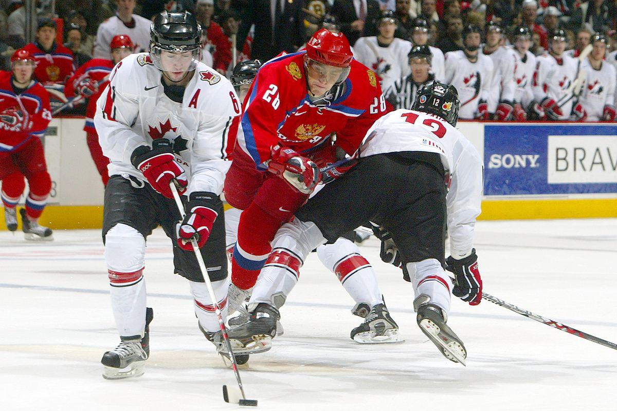 Team Russia v Team Canada