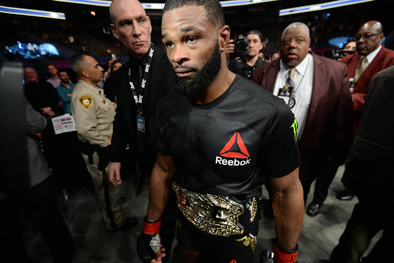 Tyron Woodley: I'm ready to wage war if UFC introduces interim title