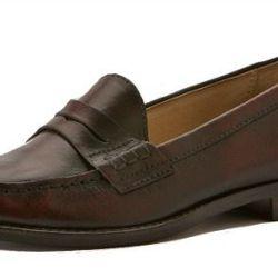 "<b>Frye</b> Dalia Penny Loafers, <a href=""http://www.thefryecompany.com/womens-shoes/view-all/70311/dalia-penny?color=PLU"">$198</a>"